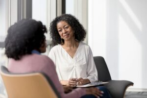 black woman life coach