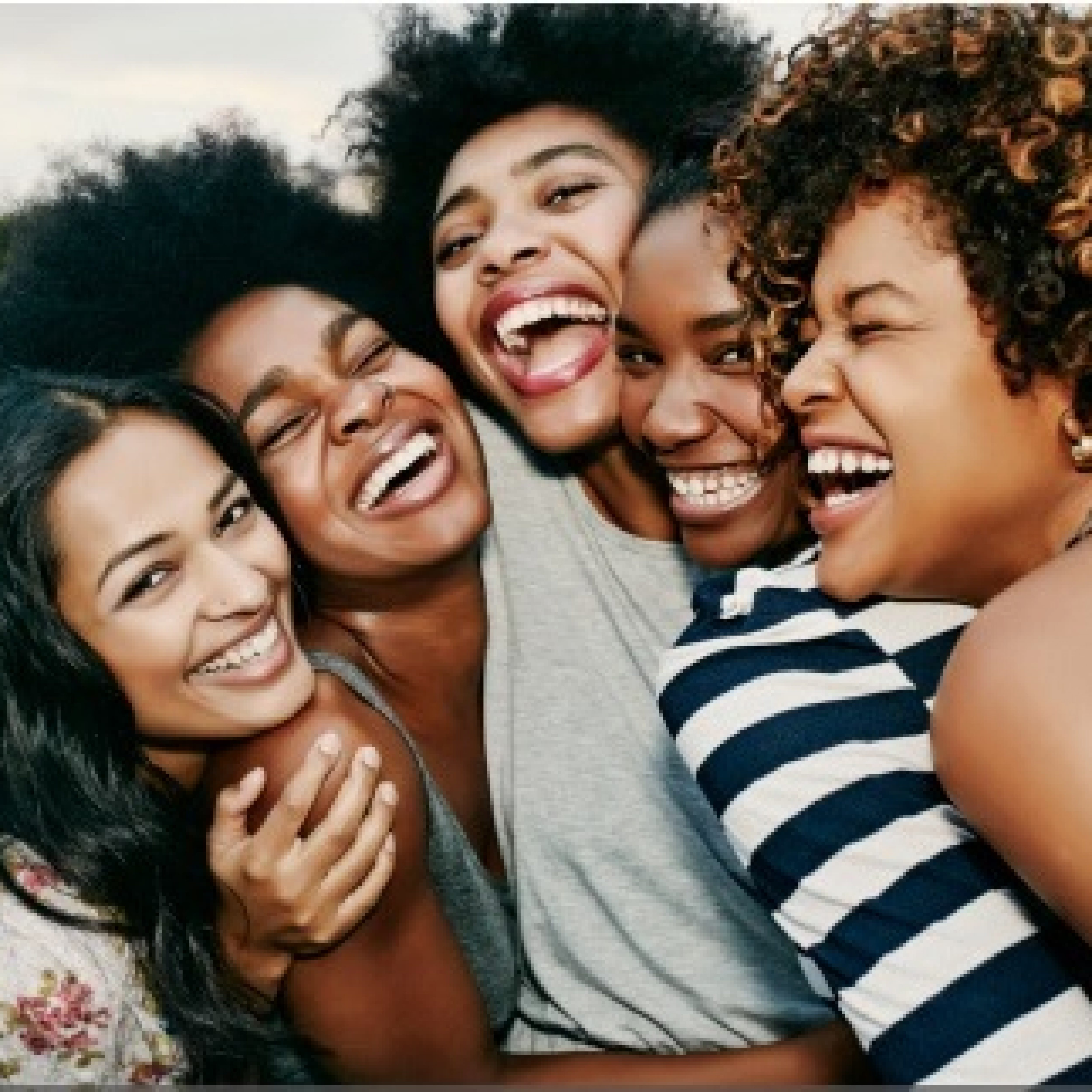 Black women in group